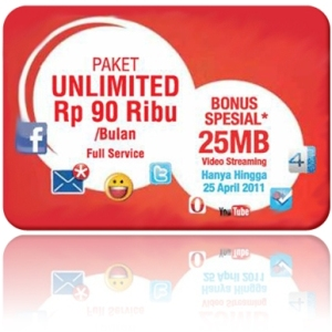BIS Unlimited Telkomsel