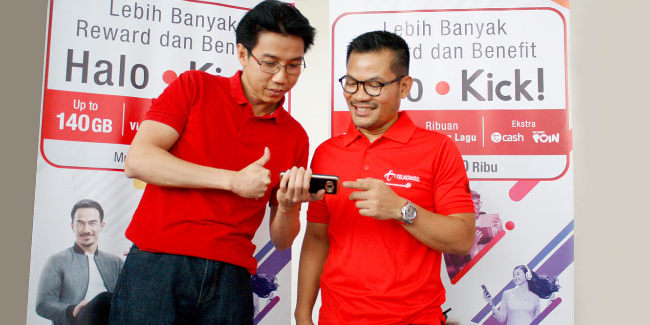 Halo Kick, Benefit Premium Bagi Pelanggan Telkomsel