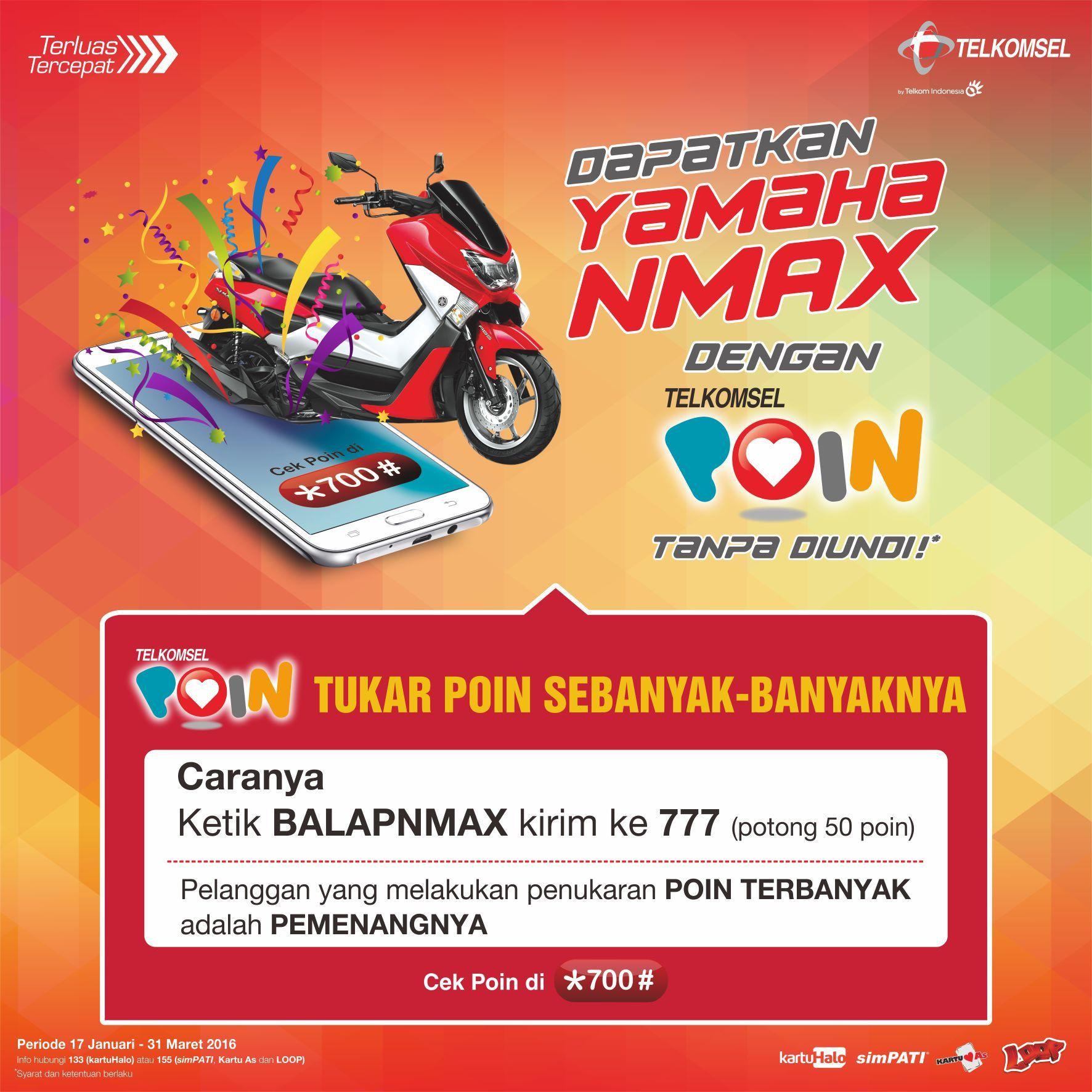 *700# - Balapan Poin Yamaha NMAX