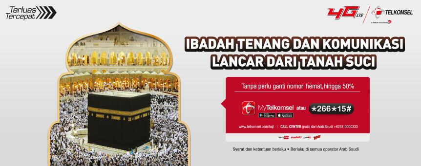 Promo Paket Haji Telkomsel