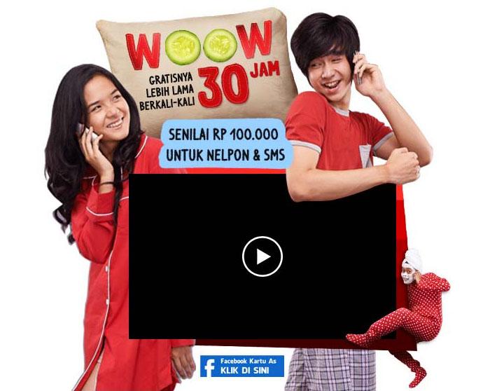 Cara Daftar Promo Paket Woow Kartu AS Telkomsel