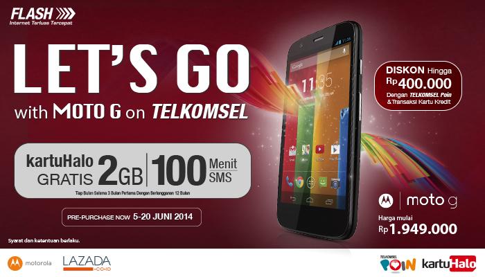 Moto G - Telkomsel