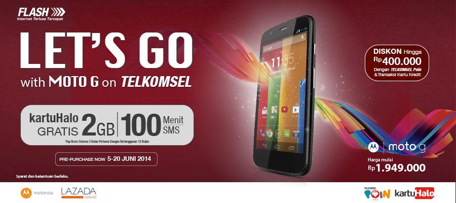Dalam pre-purchase ini Telkomsel memberikan penawaran terbaik sebagai ...