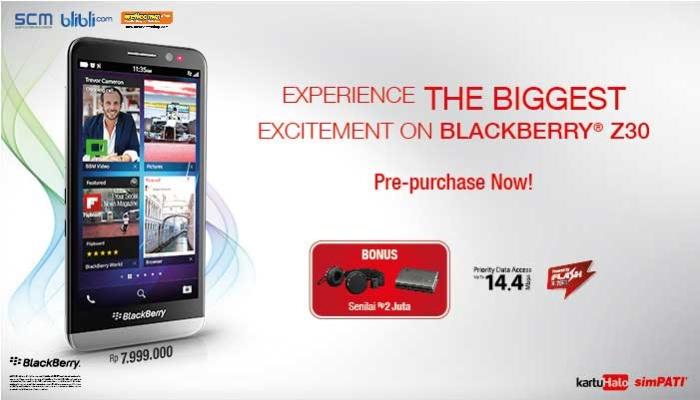tanggal 14-19 November, Telkomsel akan membuka prepurchase blackberry ...