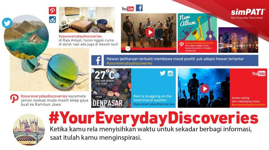 simPATI You Everyday dari Telkomsel Indonesia. # ...