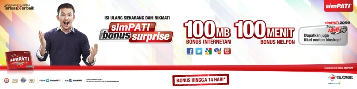 Bonus Surprise Simpati Bikin Happy