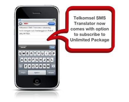 Paket Unlimited Google Translate around SMS dari Telkomsel ~ Shared