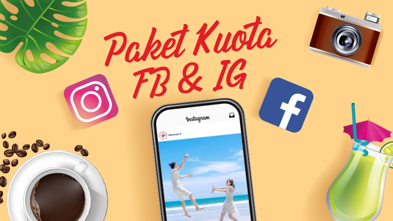 Experience More on Social Media with Paket Kuota FB & IG!