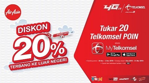 Airasia Promo Telkomsel
