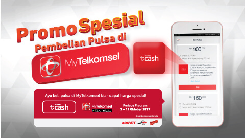 Top Up Promo Via Mytelkomsel Apps Telkomsel
