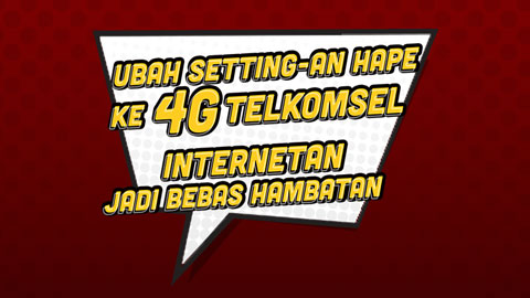 4g Settings Set The Smartphone To A 4g Network Telkomsel