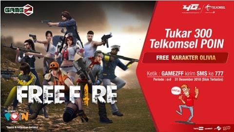 Telkomsel POIN Game Z Free Fire | Telkomsel