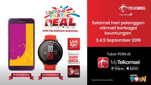 POINtastic Deal National Customer Day | Telkomsel
