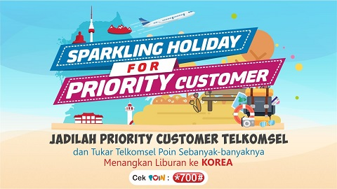 Sparkling Holiday Racing POIN   Telkomsel