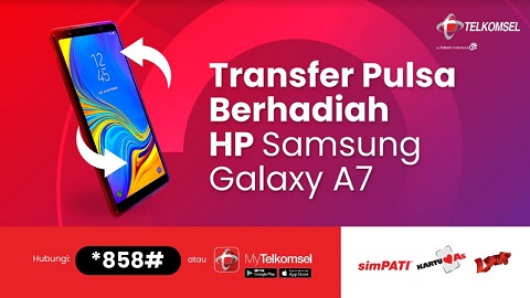 Transfer Pulsa Berhadiah Hp Telkomsel