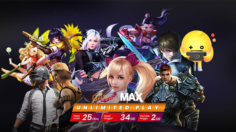 GamesMAX Unlimited Play