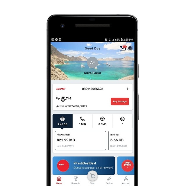 1gb Quota Rp10 New Mytelkomsel Downloader Telkomsel