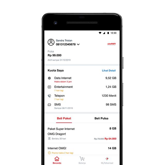 Mytelkomsel Lite Download Aplikasi Mytelkomsel Lite Telkomsel