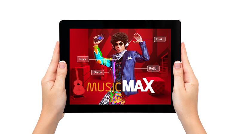 music max package listing