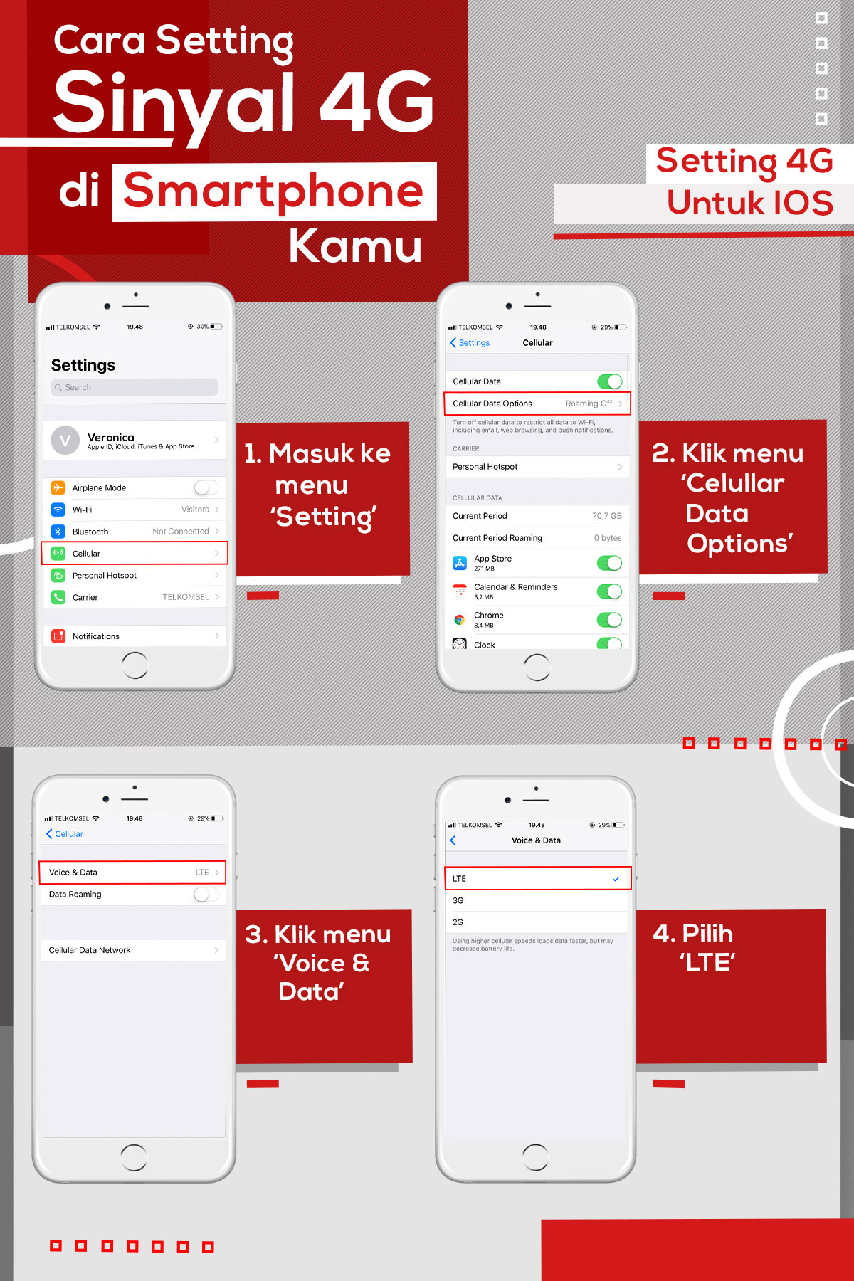 How To Easily Setup Smartphone To 4g Telkomsel