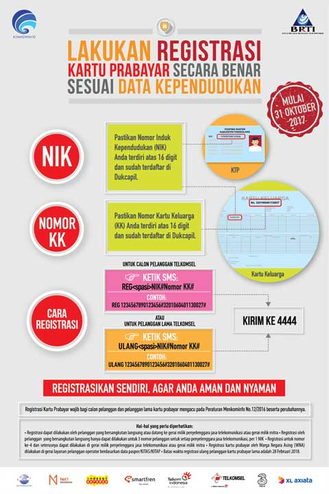 Telkomsel Card Registration Prepaid Sim Card Registration Telkomsel