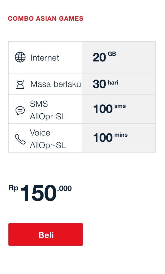 Asian Games Telkomsel