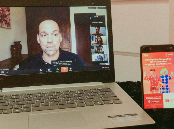 ShopeePay dan MyTelkomsel Jalin Kerja Sama untuk Permudah Masyarakat Saling Terhubung