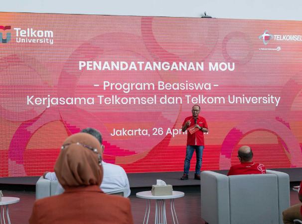 Telkomsel dan Telkom University Berkolaborasi Hadirkan Program Beasiswa untuk Dorong Terciptanya Talenta Digital Indonesia