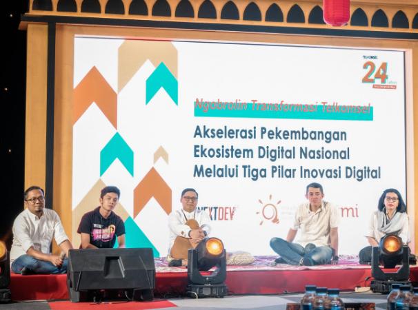 Akselerasi Perkembangan Ekosistem Digital Nasional, Telkomsel Hadirkan Tiga Pilar Inovasi Digital