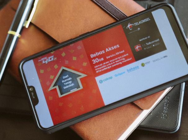 Cara Mendapatkan Kuota Bebas Akses 30gb Untuk Belajar Dari Rumah Telkomsel