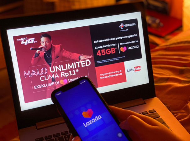 Kolaborasi Telkomsel Dan Lazada Hadirkan Promo Bebas Akses Bonus Kuota Diskon Jutaan Rupiah Hingga Voucher Belanja Telkomsel