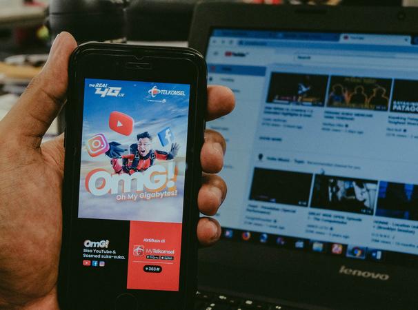 Telkomsel Hadirkan Paket OMG!, Pelanggan Makin Suka-suka Mengakses Youtube dan Social Media