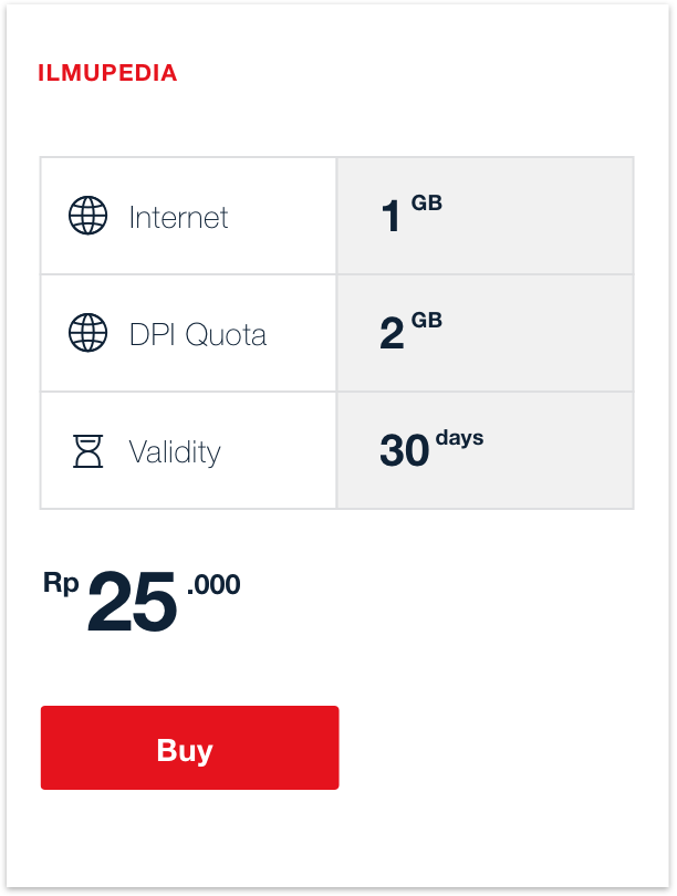 ilmupedia Package | Telkomsel