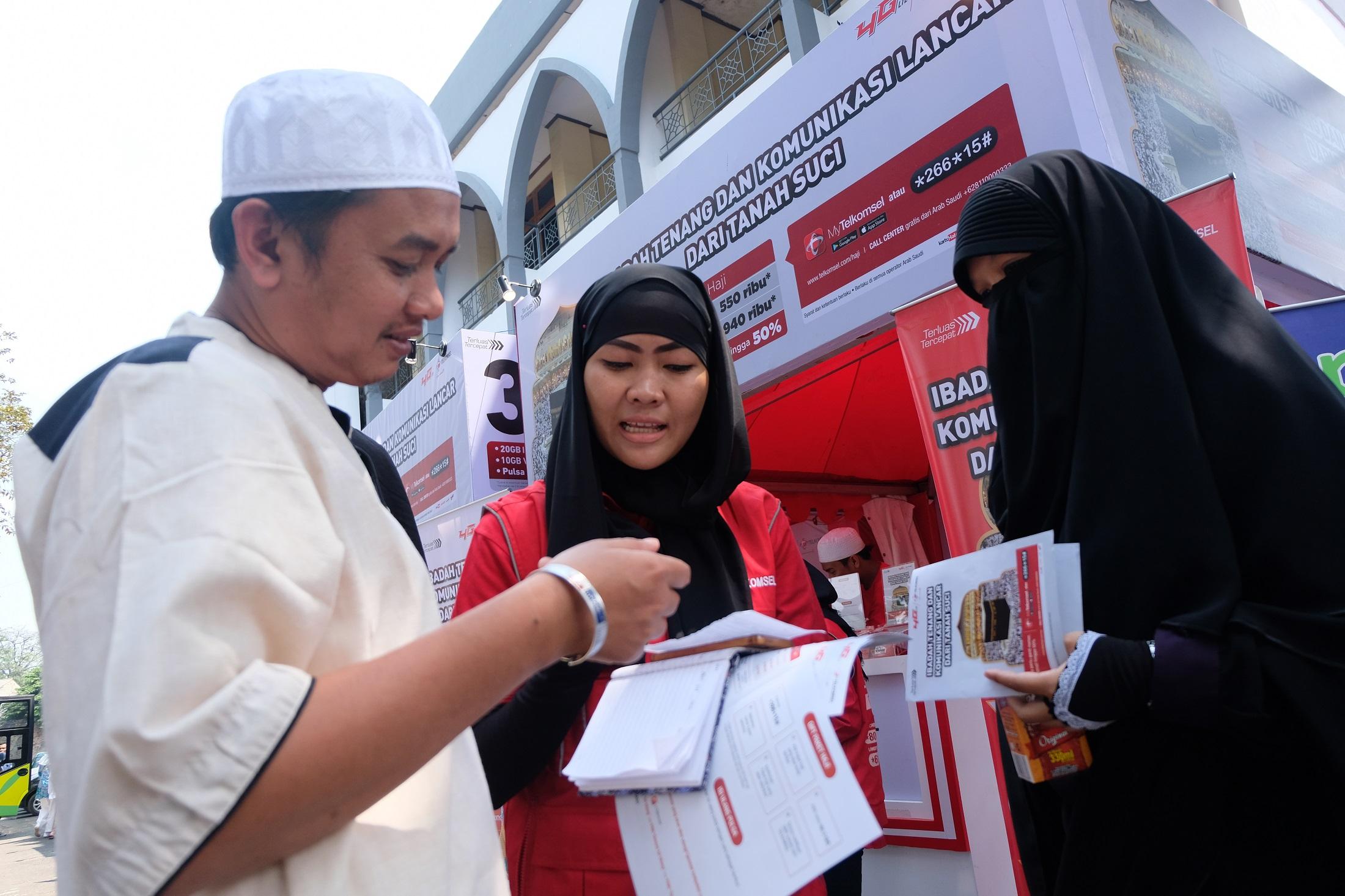 Telkomsel Provides Hajj Center In Jakarta And Bekasi Telkomsel
